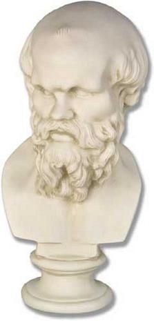 Socrates Bust - Buy a Replica Socrates Bust from Museum Store Company