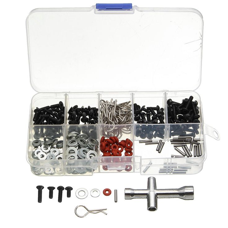 270pcs Screws Box Hexagon Wrench Repair Tool Kit for 1/10 HSP RC Car DIY #rccarsdiy