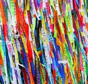 Ribbons from Bahia. Make a wish ;)
