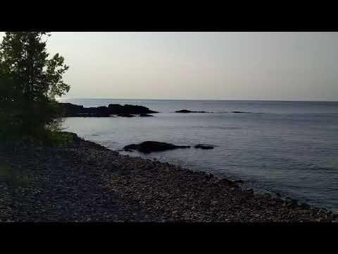 Boondocking on Lake Superior  JenandJohnBlog.com