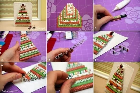 81 best diy christmas crafts images on pinterest diy christmas diy christmas cards diy do it yourself christmas decor solutioingenieria Images