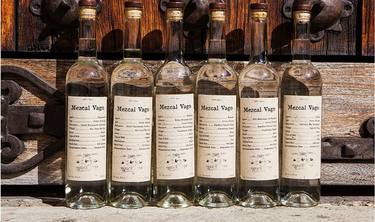 Mezcal Vago collection of artisinal mezcals #mezcal #tequila #mexico