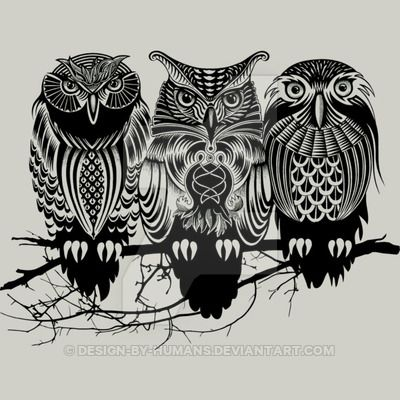 Owls of the Nile by Rcaldwell Available as a tshirt, tank top, sweat shirt, or hoodie here: www.designbyhumans.com/shop/t-shirt/men/owls-of-the-nile/61896