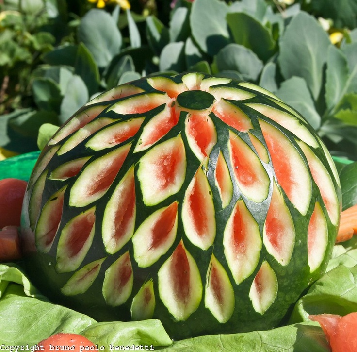 Best images about carving watermelon fruit veggie