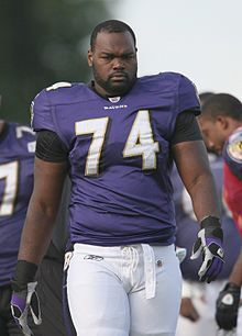 Happy Birthday: Michael Oher  1986 - Michael Oher is an American football offensive tackle for the Baltimore Ravens of the National Football League.  keepinitrealsports.tumblr.com  keepinitrealsports.wordpress.com  Mobile- m.keepinitrealsports.com