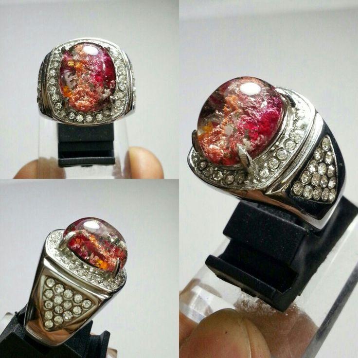 Phantom Quartz Ring titanium size 16