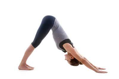 10 postures de yoga pour débutants -  Posture du chien tête en bas