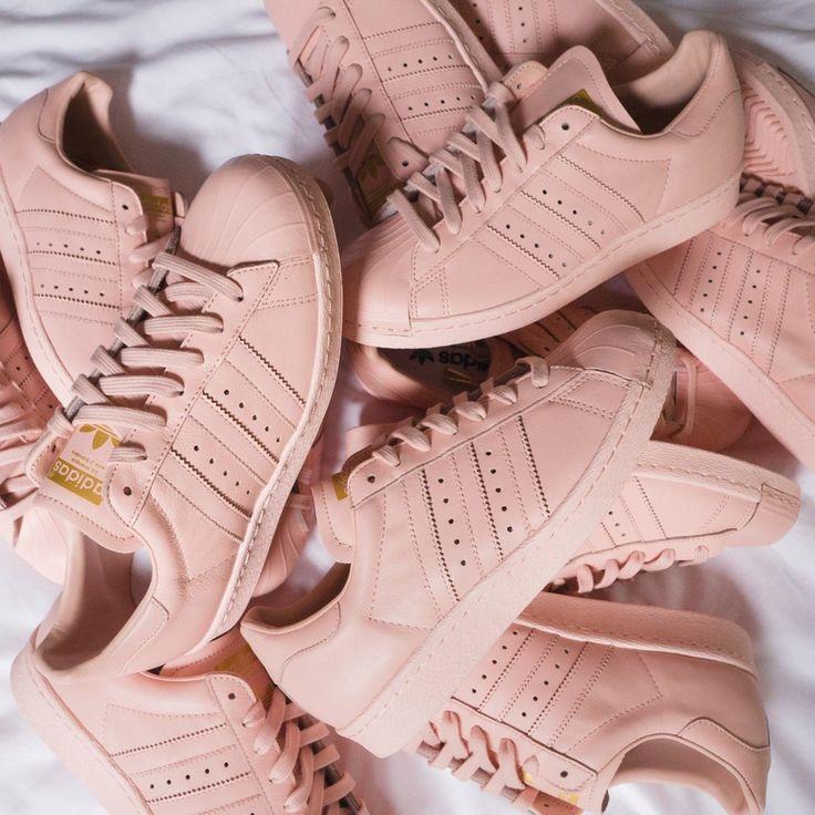 adidas superstar blush rose