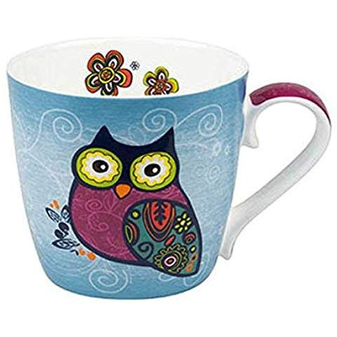 Mug Owls - Blue
