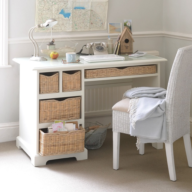 52 best shabby chic bedroom ideas images on pinterest for Chic home office furniture