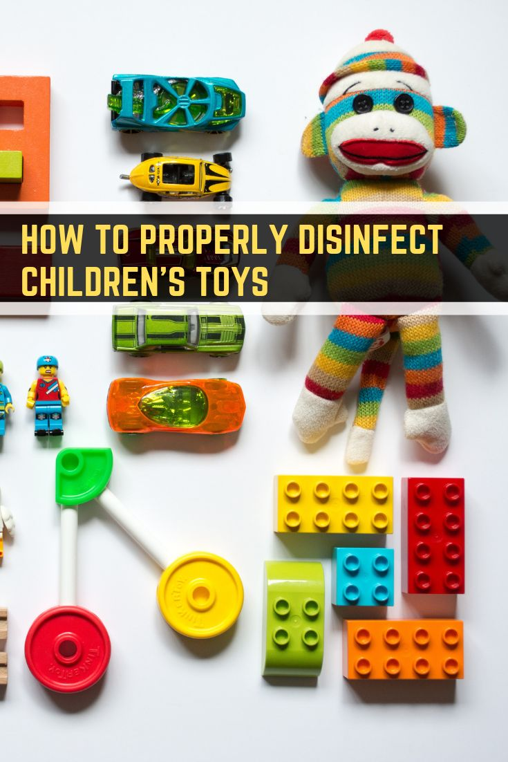 how to sanitize childrens toys