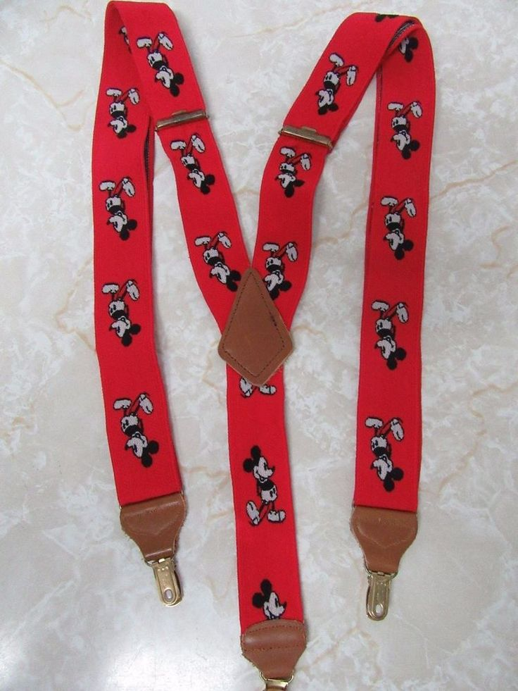 Opinion. Your Vintage mickey mouse suspenders cannot tell