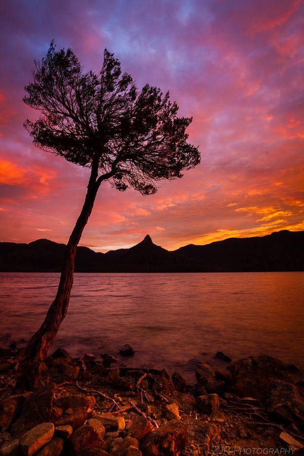 Mt. Ida Silhouette #Tasmania