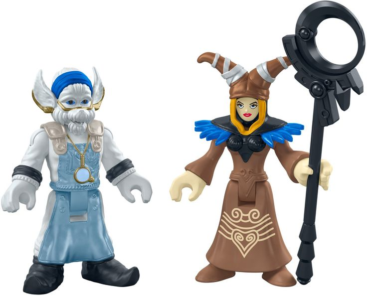 Fisher-Price Imaginext Mighty Morphin Power Rangers, Rita Repulsa & Finster Figures. 2-pack includes Rita Repulsa figure and staff & Finster figure. Look for other Imaginext Power Rangers figure packs to create exciting good vs. evil battles! (Each sold separately and subject to availability). Recreate scenes from your favorite Mighty Morphin Power Rangers TV shows and movies - or make up brand new adventures!. Great gift for any Power Rangers fan. Perfect addition or beginning to any...