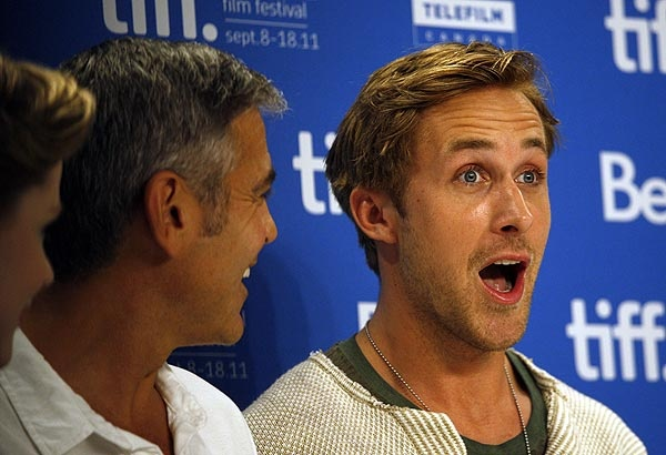 Clooney and Gosling at Toronto Film Festival