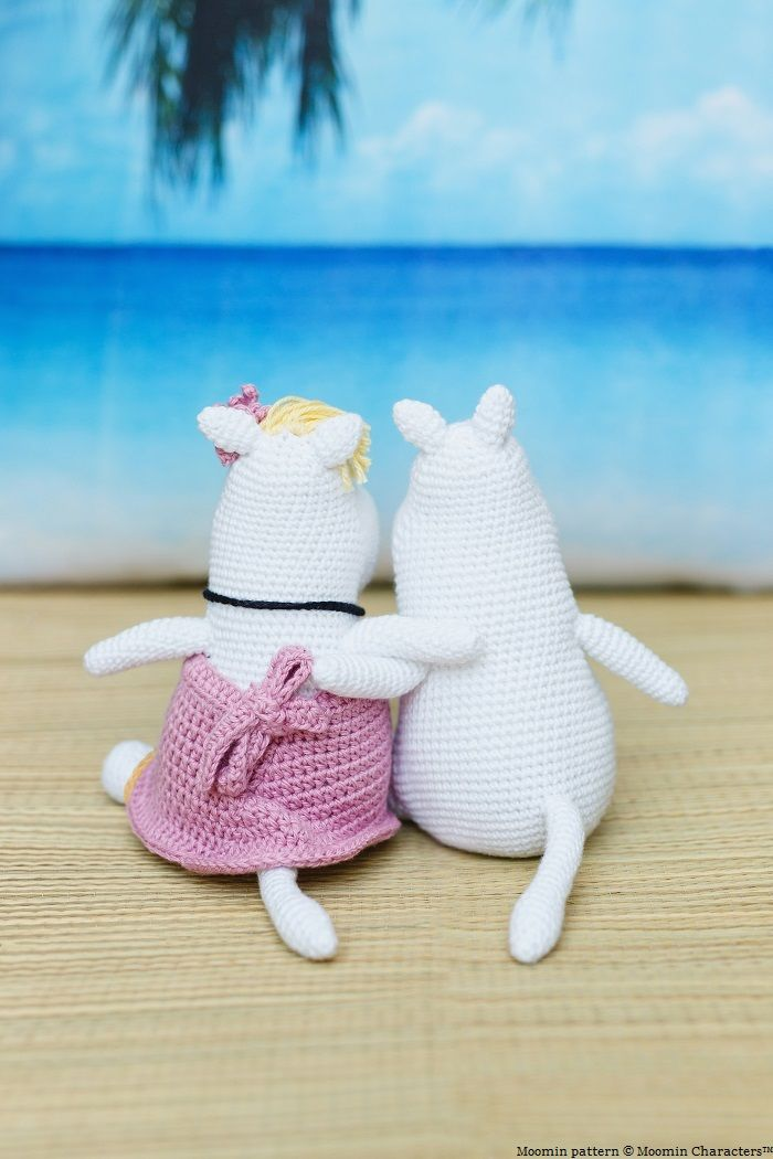 Moomins from inside crochet issue 66. Design by Irene Strange image by Kirsten Mavric