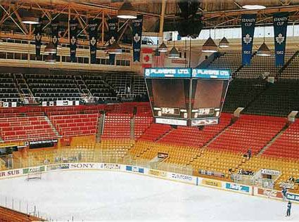 A look inside the old, historic, Maple Leaf Gardens | Toronto Maple Leafs | NHL | Hockey