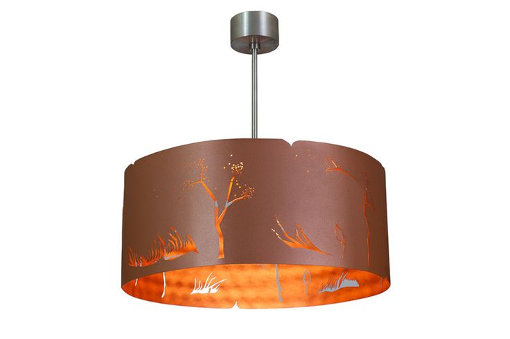 LAMPA nowoczesna niezwykly design COPPER WIND - Archerlamps - Lampy wiszące
