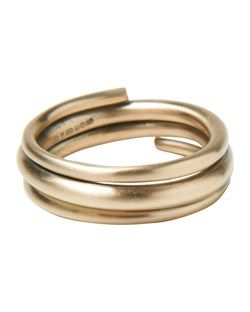 THE CIRCULATION WRAPPED RING by TOAST