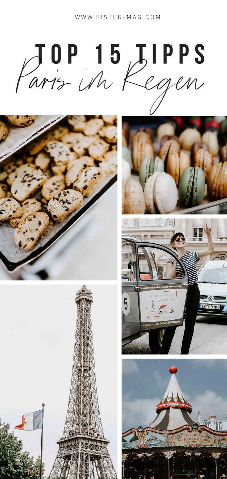 Reise Serie: Digital Ladies Travel – Paris im Regen