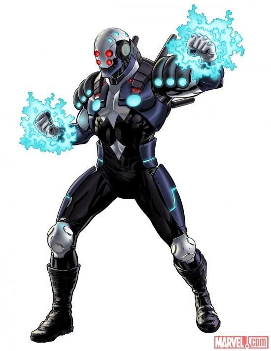 Blizzard character model from Marvel: Avengers Alliance