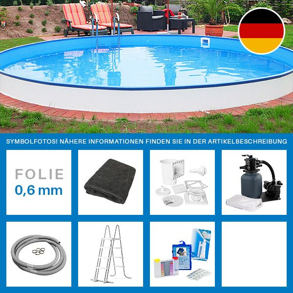 25 best ideas about stahlwandpool rund on pinterest for Runder stahlwandpool