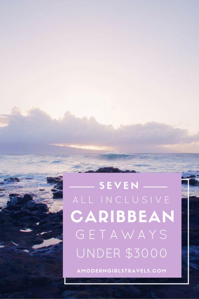 7 Caribbean getaways under $3000 dollars.