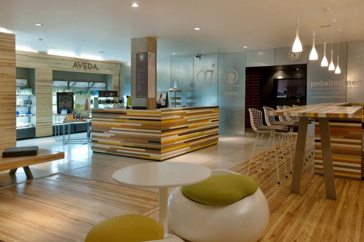 Aveda Salons Qi Urban Lobby Wellness Centre By Manada