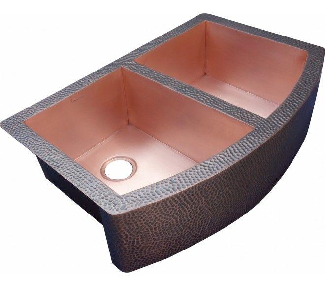 30+ Double bowl copper farmhouse sink ideas