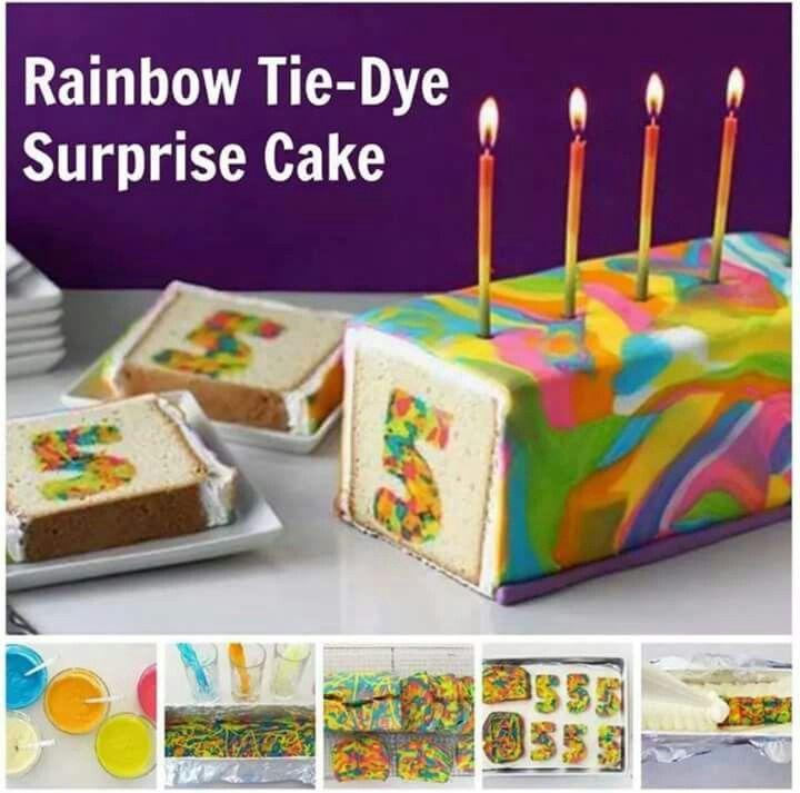Kuchen mit Zahl