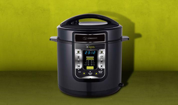Cuisinette-express 06V: Olla a presión eléctrica de 6L.