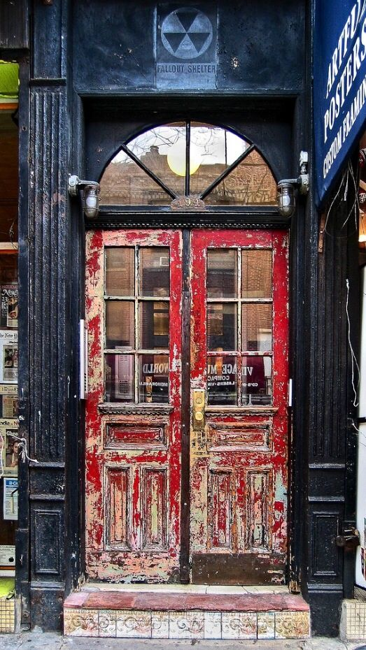 New York City, New York #doors.   ..rh