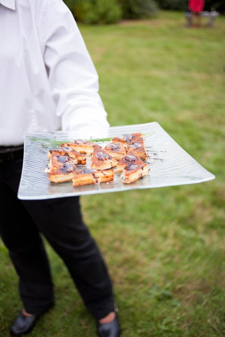 Happy #NationalGrilledCheeseDay!  Mini Grilled Cheese Tartines with Pear Puree & Balsamic Syrup   Blue Heron Catering   Amherst Woman's Club   Western MA Weddings   Be Our Guest Party Rentals   Sorella Muse Photography
