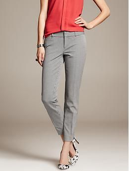 sloan houndstooth ankle-pant
