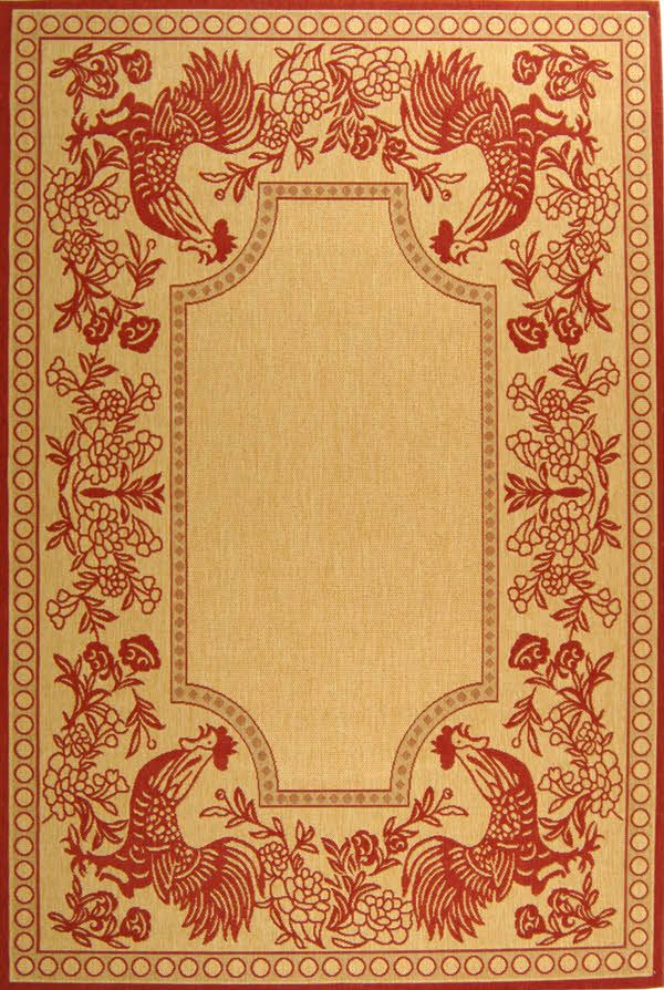 Area Rug Country French Style