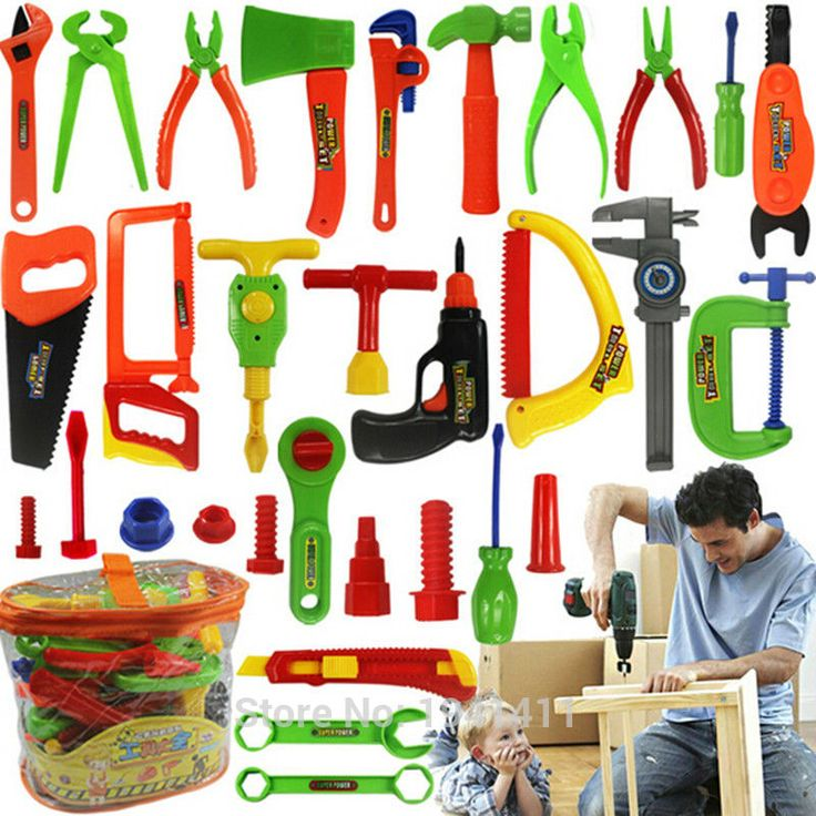 34pcs Baby educational toys Tool Kit children play house classic plastic toy kids tools hammer toolbox Simulation tool kit toys #>=#>=#>=#>=#> Click on the pin to check out discount price, color, size, shipping, etc. Save and like it!