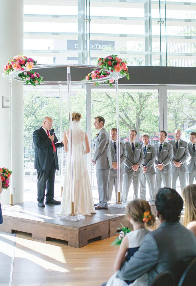barn wedding venues twin cities%0A Briana  u     Tom  Modern Elegance at Orchestra Hall