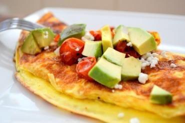 Ostpanerad Omelette