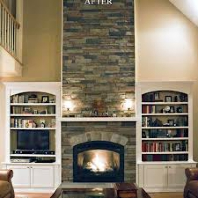 19 best faux rock images on Pinterest Fireplace ideas