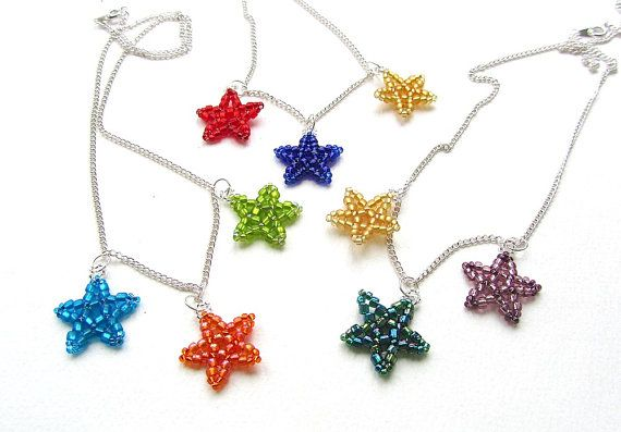 Christmas Stars Necklace