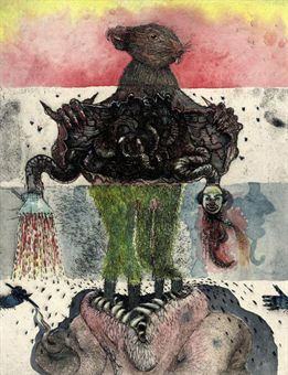 """Jake and Dinos Chapman """"Exquisite Corpse"""" series at Tate Modern"""