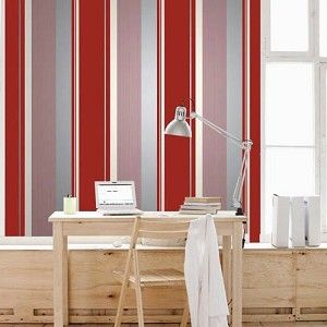 Red striped wallpapers textures seamless 72 textures for Arredi sketchup