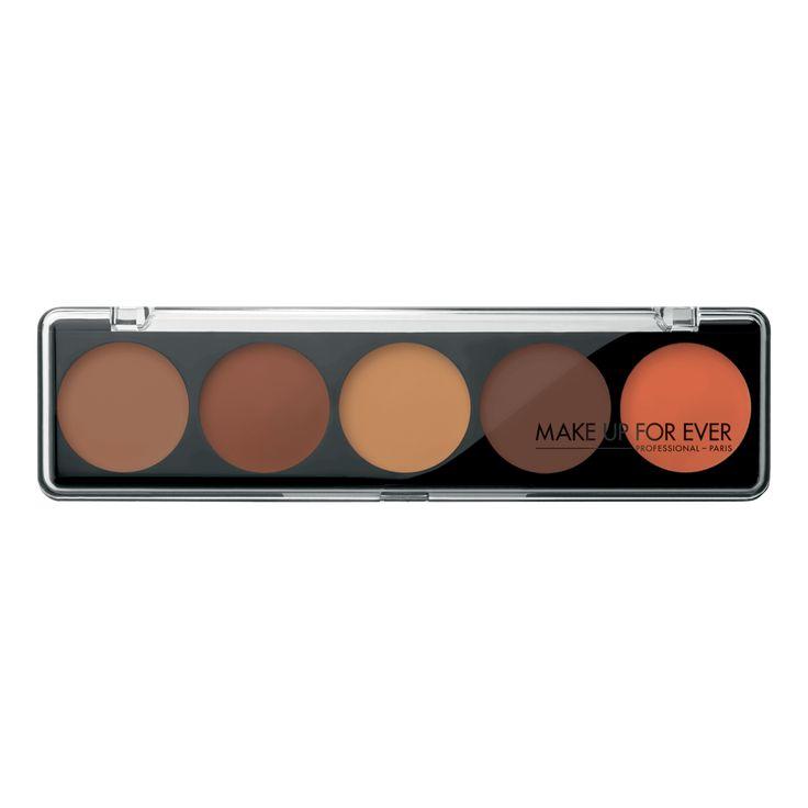 5 Camouflage Cream Palette - Dark Complexions 12204