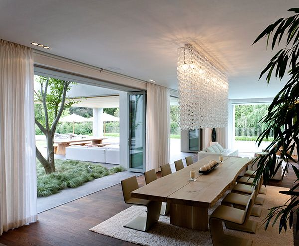 """Modern """"Open House"""" in South Africa sees Architecture and Decor pull together   Modern House Designs"""