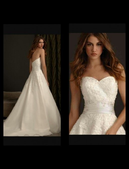 8 best Used dresses images on Pinterest   Short wedding gowns ...