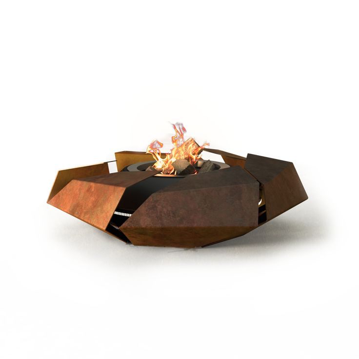 Stravaganza  glammfire.com Various finishes inc rusted and sealed CorTen