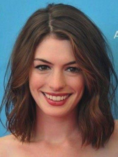 Il wob di Anne Hathaway  Cortes de pelo wob para la Primavera / Verano 2015