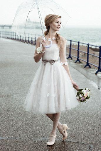 Wedding Magazine - Lookbook: short wedding dresses #short #wedding #dress