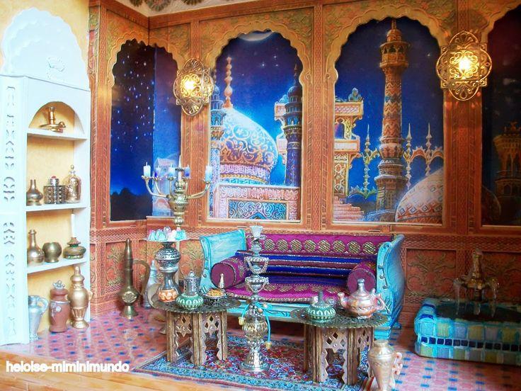 Arabic Miniature Heloise-miminimundo: Escenas