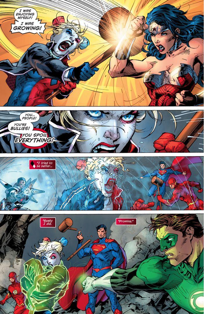 Harley Quinn VS The Justice League (April Fools Special) 1